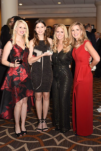 Shannon Hampton, Mary-Kate Hall, Michelle David & Maria Coakley David. November 11, 2017. DC's Dancing Stars Gala. Amanda Warden.