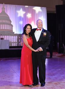 Allen & Thuy Golombek. November 11, 2017. DC's Dancing Stars Gala. Amanda Warden.
