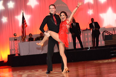 Jason Rushing & Caroline Coakley. November 11, 2017. DC's Dancing Stars Gala. Amanda Warden.