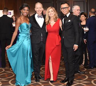 Markette Sheppard, Jim Coakley, Maria Coakley David & Erwin Gomez. November 11, 2017. DC's Dancing Stars Gala. Amanda Warden.