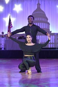 Karina Vidal & Shawn Bantum. November 11, 2017. DC's Dancing Stars Gala. Amanda Warden.