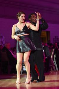 Kari Merkel & Shawn Bantum. November 11, 2017. DC's Dancing Stars Gala. Amanda Warden.
