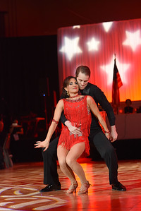 Caroline Coakley & Jason Rushing. November 11, 2017. DC's Dancing Stars Gala. Amanda Warden.