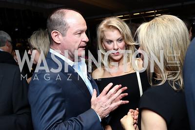 John Sullivan, Kathy Rogers, Danielle Dold. Photo by Tony Powell. Dentons Inaugural Cocktail Party. The Source. January 19, 2017
