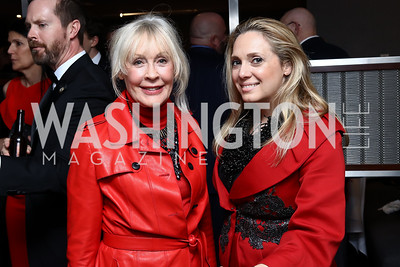 Trish Duggan, Meredith Hope. Photo by Tony Powell. Dentons Inaugural Cocktail Party. The Source. January 19, 2017