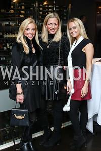 Mary Hillyer Peelen, Elizabeth Peelen, Sarah Peelen. Photo by Tony Powell. Dentons Inaugural Cocktail Party. The Source. January 19, 2017