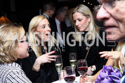 Pam Crotty, Mary Hillyer Peelen, Elizabeth Peelen. Photo by Tony Powell. Dentons Inaugural Cocktail Party. The Source. January 19, 2017