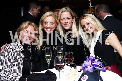 Pam Crotty, Mary Hillyer Peelen, Elizabeth Peelen, Sarah Peelen. Photo by Tony Powell. Dentons Inaugural Cocktail Party. The Source. January 19, 2017