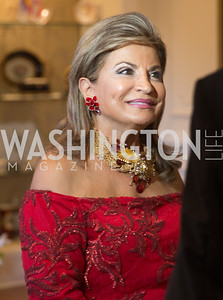 Reception for Her Majesty Empress Farah Pahlavi