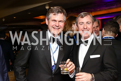 Justin Peterson, Brian Kennedy. Photo by Tony Powell. Fly Over States Inaugural Celebration. January 19, 2017