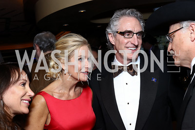 First Lady Kathryn Burgum and ND Governor Doug Burgum. Photo by Tony Powell. Fly Over States Inaugural Celebration. January 19, 2017