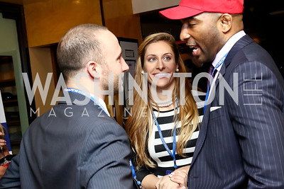 Kris Goldsmith, Erika Damare, Willie Floyd. Photo by Tony Powell. Fly Over States Inaugural Celebration. January 19, 2017