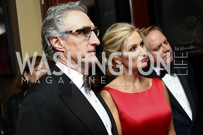 ND Governor Doug Burgum and First Lady Kathryn Burgum. Photo by Tony Powell. Fly Over States Inaugural Celebration. January 19, 2017