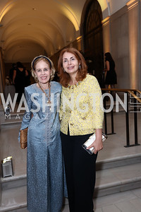 Ann Nitze, Sana Sabbagh. Photo by Tony Powell. Freer Sackler Reopening. September 14, 2017