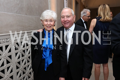 Paula and Peter Lunder. Photo by Tony Powell. Freer Sackler Reopening. September 14, 2017