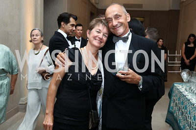 Thomas Krahenbuhl and Dorothy Kosinski. Photo by Tony Powell. Freer Sackler Reopening. September 14, 2017