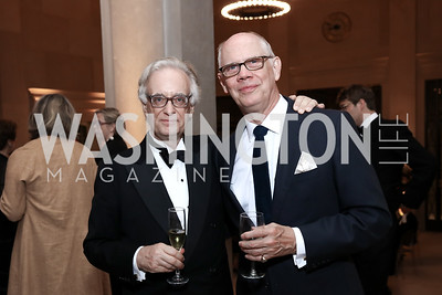 Julian Raby, Kevin Chaffee. Photo by Tony Powell. Freer Sackler Reopening. September 14, 2017