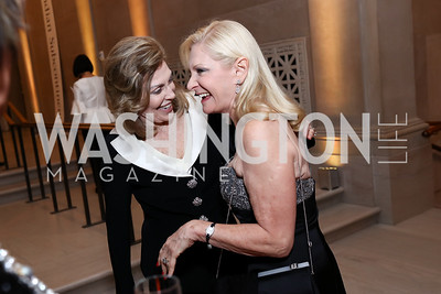 Dame Jillian Sackler, Susan Pillsbury. Photo by Tony Powell. Freer Sackler Reopening. September 14, 2017