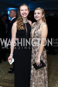 Katey Parshall, Laura Garrett. Photo by Tony Powell. Goddard Gunster Inaugural Reception. Hay Adams. January 19, 2017
