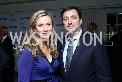 Kristi and Gerry Gunster. Photo by Tony Powell. Goddard Gunster Inaugural Reception. Hay Adams. January 19, 2017