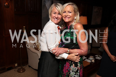 Staci Capuano, Deborah Sigmund. Photo by Tony Powell. 2017 IAR Cocktails for a Cause. George Town Club. July 27, 2017
