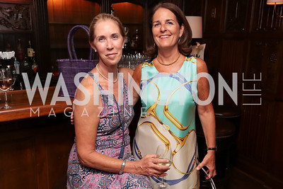Christina Carter, Sarah Taylor. Photo by Tony Powell. 2017 IAR Cocktails for a Cause. George Town Club. July 27, 2017