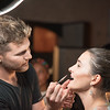 Rob Short, Marissa Ferraraccio,  INGLOT Pre-Launch Party at Filippo Champagne Lounge.  September 21, 2017.  Photo by Ben Droz