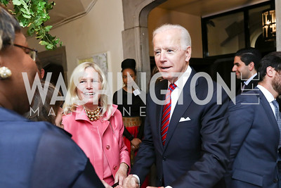 Susan Blumenthal, Former VP Joe Biden. Photo by Tony Powell. Intl. Student House 2017 Global Leadership Awards. October 4, 2017