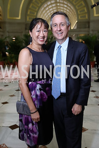 May Liang Lintott and Jim Lintott. Photo by Tony Powell. Inaugural Halcyon Awards. Union Station. May 20, 2017