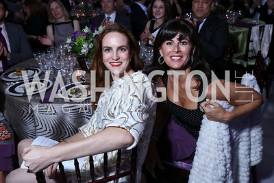 Kate Goodall, Michelle Freeman. Photo by Tony Powell. Inaugural Halcyon Awards. Union Station. May 20, 2017