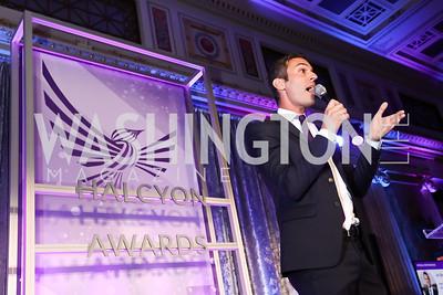 NPR's All Things Considered host Ari Shapiro. Photo by Tony Powell. Inaugural Halcyon Awards. Union Station. May 20, 2017