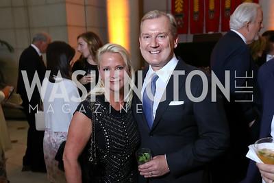 Lyn and Mark McFadden. Photo by Tony Powell. Inaugural Halcyon Awards. Union Station. May 20, 2017