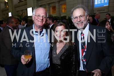 Ben Cohen, Annie Totah, Jerry Greenfield. Photo by Tony Powell. Inaugural Halcyon Awards. Union Station. May 20, 2017