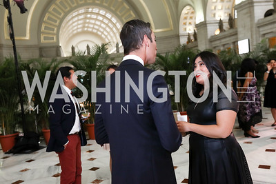 NPR's All Things Considered host Ari Shapiro, Jay Newton Small. Photo by Tony Powell. Inaugural Halcyon Awards. Union Station. May 20, 2017