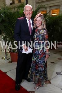 Jack Davies and Kay Kendall. Photo by Tony Powell. Inaugural Halcyon Awards. Union Station. May 20, 2017