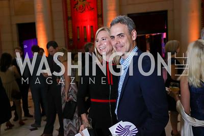 Mary and Brett Schulman. Photo by Tony Powell. Inaugural Halcyon Awards. Union Station. May 20, 2017