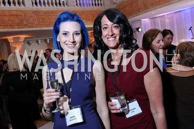 Jules Benzino, Michele Cha. Photo by Tony Powell. Inaugural Salesforce Equality Awards. NMWA. April 3, 2017