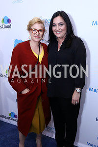 Honoree Patricia Arquette, Cindy Robbins. Photo by Tony Powell. Inaugural Salesforce Equality Awards. NMWA. April 3, 2017
