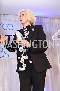 Honoree Lilly Ledbetter. Photo by Tony Powell. Inaugural Salesforce Equality Awards. NMWA. April 3, 2017