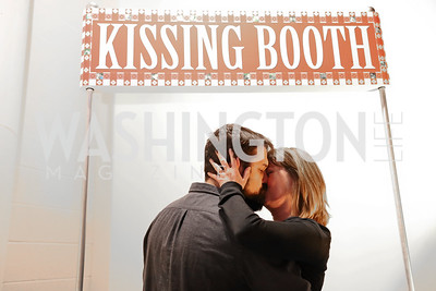 Kissing Booth. Photo by Tony Powell. Inaugural Transformer Heartbreakers Ball. February 14, 2017