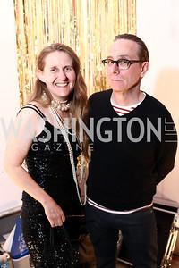 Cynthia Connolly, Brian Baker. Photo by Tony Powell. Inaugural Transformer Heartbreakers Ball. February 14, 2017