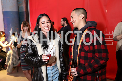 Vivienne Bui, Andy Huynh. Photo by Tony Powell. Inaugural Transformer Heartbreakers Ball. February 14, 2017