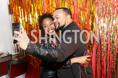 Nina Goodwine, RJ James. Photo by Tony Powell. Inaugural Transformer Heartbreakers Ball. February 14, 2017