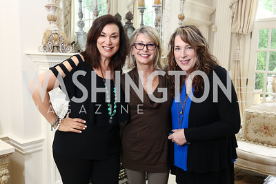 Amy Sky, Olivia Newton-John, Beth Nielsen Chapman. Photo by Tony Powell. Inaugural Women of Compassion Award Brunch. Zuccari Residence. May 2, 2017