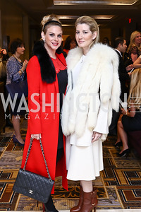 Yuri Rossi, Marile Lopez. Photo by Tony Powell. Sister Cities Inaugural Breakfast. Four Seasons. January 19, 2017