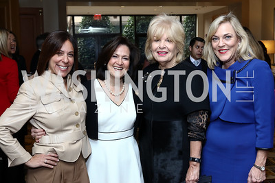 Shelley Hymes, Anita McBride, Patricia Harrison, L.A. County Supervisor Kathryn Barger. Photo by Tony Powell. Sister Cities Inaugural Breakfast. Four Seasons. January 19, 2017