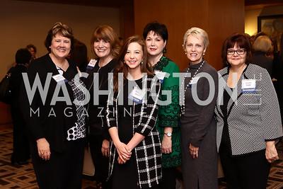 Gina Whitsitt, Gena Quarantello, Kathryn Jones, Gina Rigby, Wanda Amos, Karen Pettit. Photo by Tony Powell. Sister Cities Inaugural Breakfast. Four Seasons. January 19, 2017