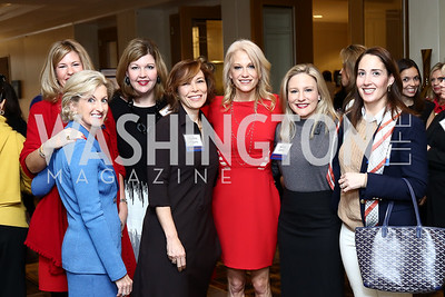 Kellyanne Conway. Photo by Tony Powell. Sister Cities Inaugural Breakfast. Four Seasons. January 19, 2017