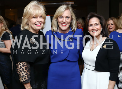 Patricia Harrison, L.A. County Supervisor Kathryn Barger, Anita McBride. Photo by Tony Powell. Sister Cities Inaugural Breakfast. Four Seasons. January 19, 2017