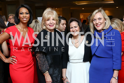 Fox News' Harris Faulkner, Patricia Harrison, Anita McBride, L.A. County Supervisor Kathryn Barger. Photo by Tony Powell. Sister Cities Inaugural Breakfast. Four Seasons. January 19, 2017